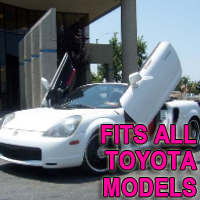 Brand New Toyota Bolt On Lambo Vertical Doors Kit - Fits All Models