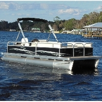2014 21' x 8.5' Rear Entry Cruising Pontoon Boat
