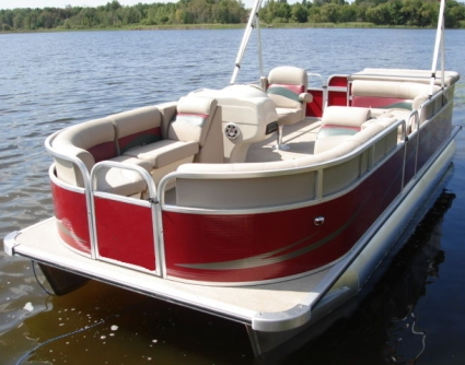 how to build a console for a pontoon boat