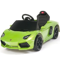 Kids Ride On Power Wheels RC Remote Lamborghini Aventador Car