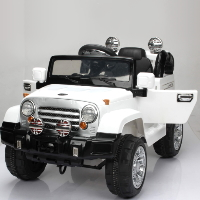 Kids 6V Ride On Car Truck Remote Control Electric Jeep Style MP3 Music Led Light - JJ245