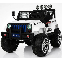 Kids 6V Ride On Car Truck Electric Jeep Style with Bluetooth - S2388