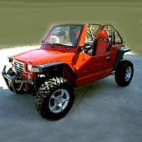 800cc Red Oreion Sand Reeper 4 x 4 Street Legal UTV