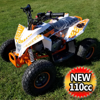 110cc RPS ATV Racing Sport Style Fully Auto With Remote Kill