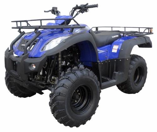 250cc Canyon Atv Four Wheeler Semi Automatic With Reverse Full Size
