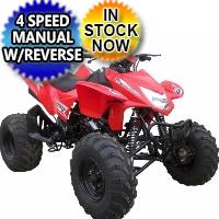 Brand New Tornado 250cc Sport ATV Air Cooled 4 Stroke Four Wheeler