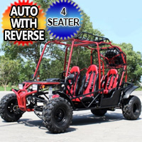 200 - 170cc Four Seater Automatic Go kart With Reverse - FULL SIZE