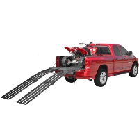 Brand New 9' X-Tra Wide Heavy Duty Folding Arched Ramps