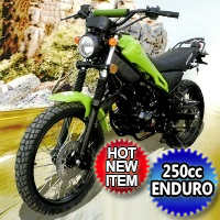 250cc Magician Dirt Bike Enduro 5 Speed Manual w/ Electric Start