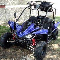 125cc Go Kart 4 Stroke 3 Speed Semi Auto w/Reverse Dune Buggy - TK125GK-3
