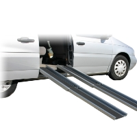 Brand New High Quality 6' Telescoping Wheelchair Ramp