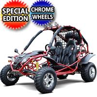 Brand New 200cc 4 Stroke Super Monster Go Kart Special Edition w/Upgraded Wheels - Tk200Gk-10