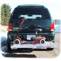 Brand New 350ARV Tilt-a-Rack Mobility Carrier