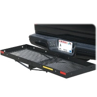 Brand New 59-3/4 Hitch Mounted Cargo Carrier