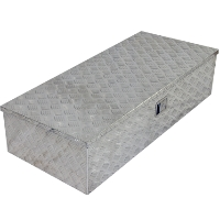 Brand New Diamond Plate Storage Box