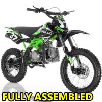 125cc Manual Kick Start Dirt Bike - AGB-37CRF-2