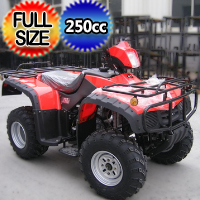 250cc 4 Stroke Shaft Drive ATV Utility Full Size Quad - ATV-02A(LHJ)