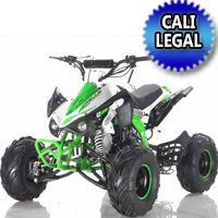 125cc ATV Apollo Series 4 Stroke Single Cyclinder Automatic Sport - ATV-120-125