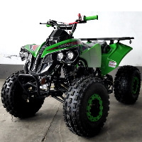 125cc Utility Quad Electric Start Manual w/Reverse ATV - ATV-34L-125