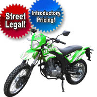 250cc 4 Stroke Street Legal Dirt Bike Motorcycle
