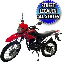 250cc Enduro Dirt Bike 5 Speed Manual With Electric /  Kick Start