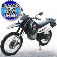 DF-250RTE 250cc Street Legal Enduro 5 Speed Manual Dirt Bike