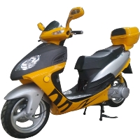150cc 4 Stroke Air Cooled Moped Scooter - MC-04K-150