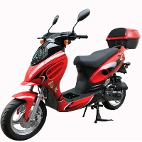 Tropical 50 - 49cc Scooter Air Cooled Moped With Elec. Start Model 7JL-50
