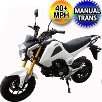 50cc YamaSaki Sport Beast Motorcycle Scooter Bike With Manual Trans. 4 Speed 40+ MP - MC-156-50