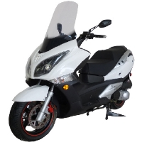 Brand New 250cc MC-18-250 Gas Scooter Moped Bicycle