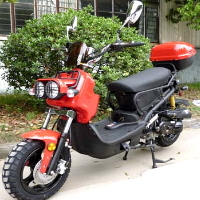 """150cc Moped Scooter Two Seater With 12"""" Rims - MC-22Y-150CC"""