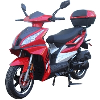 150cc MC-49-150 Scooter Moped Bicycle