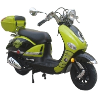 150cc Air Cooled Moped Scooter