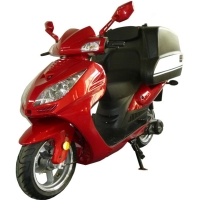 150cc Air Cooled Pizza Delivery Moped Scooter