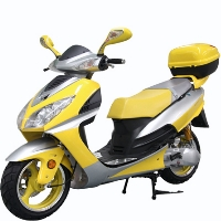150cc 4-Stroke Single Cylinder Moped Scooter - MC-75Y-150(LJ4)