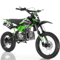 125cc Dirt Bike Apollo Series Manual Kick Start Dirt Bike - AGB-37CRF-2