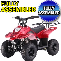 110cc Fully Assembled Boulder Atv Four Wheeler - Model: Ready B1