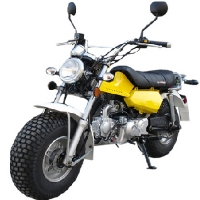 123cc Full Size Street Legal Motor Bike