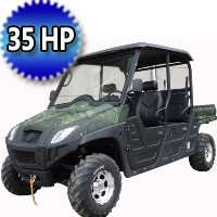 Brand New 600cc Single Cylinder 4 Stroke Liquid-Cooled Utility Vehicle
