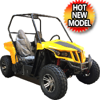 150cc 4 Stroke Utility Vehicle with Aluminum Wheels - UV-22A-150