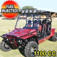 1100cc Joyner Trooper T4 Go Kart EFI 4 Seater Utility Vehicle - UV-26-TR1100-T4