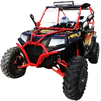 Predator FX400 UTV Utility Vehicle w/ Windshield  - UV-30-350