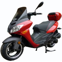 150cc MC-46J-150 4 Stroke Air Cooled Moped Scooter