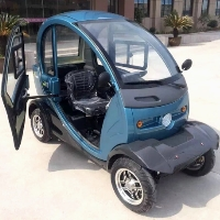 Q Pod 1000 Watt 4 Wheel Electric Mobility Moped Scooter