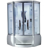 "Mesa WS-609A 48""x48""x85"" Walk In Steam Shower Unit"