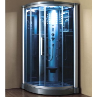 "Mesa WS-801L 42""x42""x85"" Walk In Steam Shower Unit"