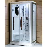 "Mesa WS-802A 45""x35""x85"" Walk In Steam Shower Unit"