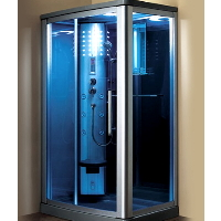 "Mesa WS-802L 45""x32""x85"" Walk In Steam Shower Unit"