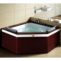 "Autumn WS-0503 LUX 60""x60""x27"" Free Standing Jetted Bath Tub - BT-0503 LUX"