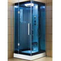 "Mesa WS-303A 32""x32""x85"" Walk In Steam Shower Unit"